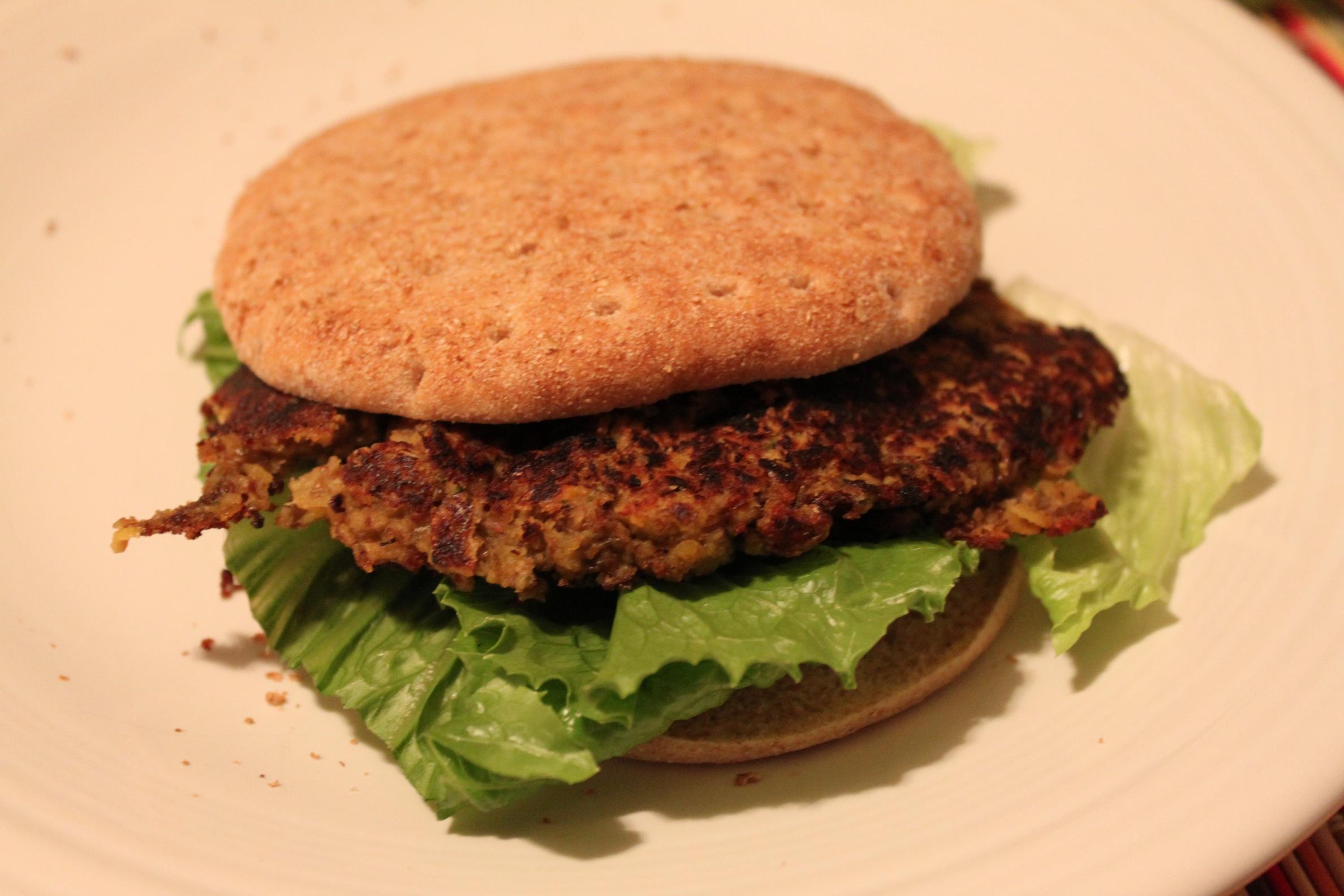 Vegan Lentil Burgers | VegOut Detroit